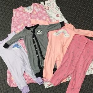 Winter to Spring transition set! Baby girl